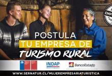 Photo of Concurso Mujer Empresaria Turística premiará con $2.000.000 a las mejores empresarias de turismo rural